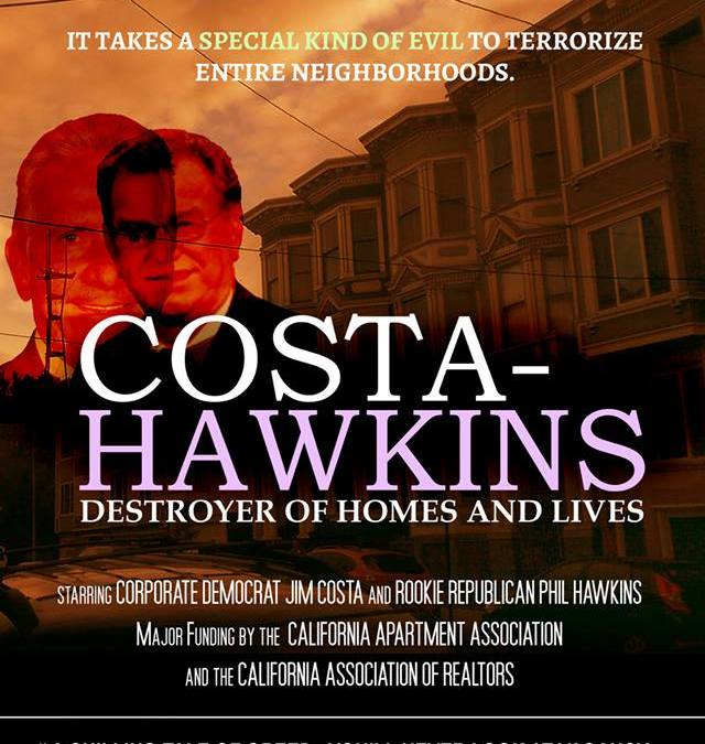 Costa Hawkins Lobbying Day: January 10th