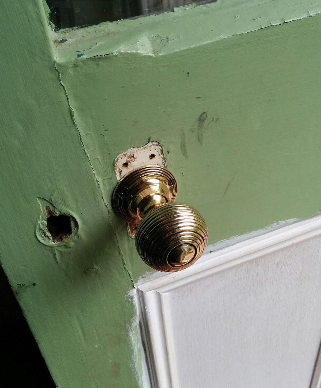 back door new knob