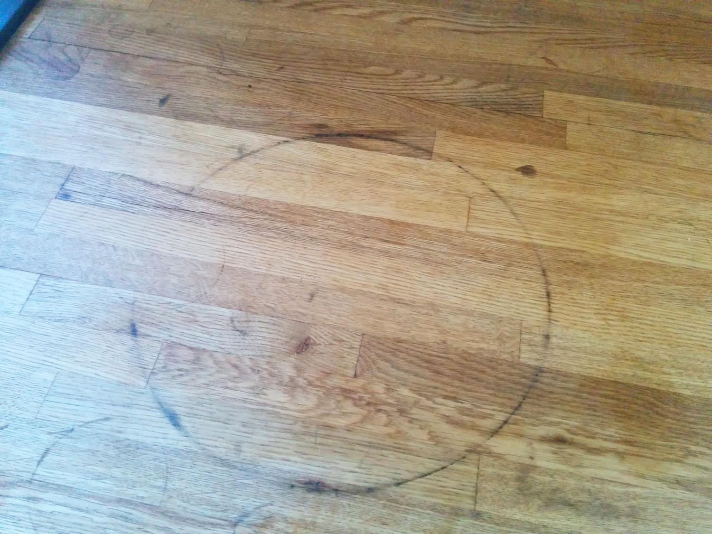 kitchen worktop stained