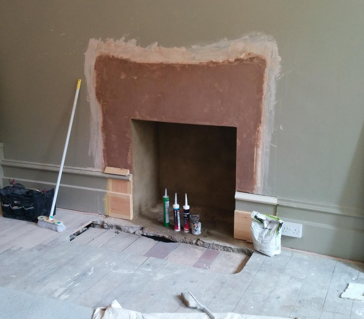 living room fireplace aug16