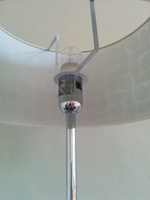 Standard lamp - lamp holder