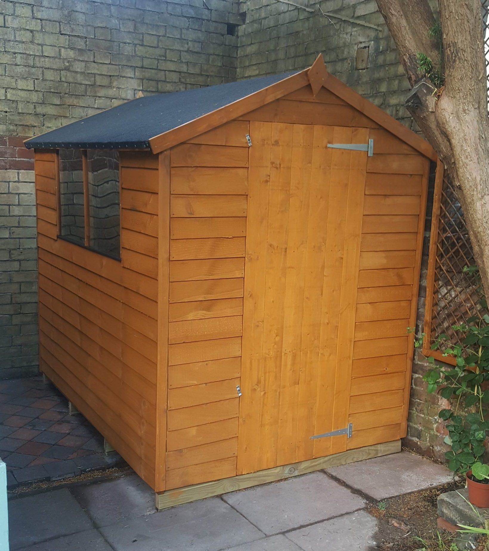 New shed finished