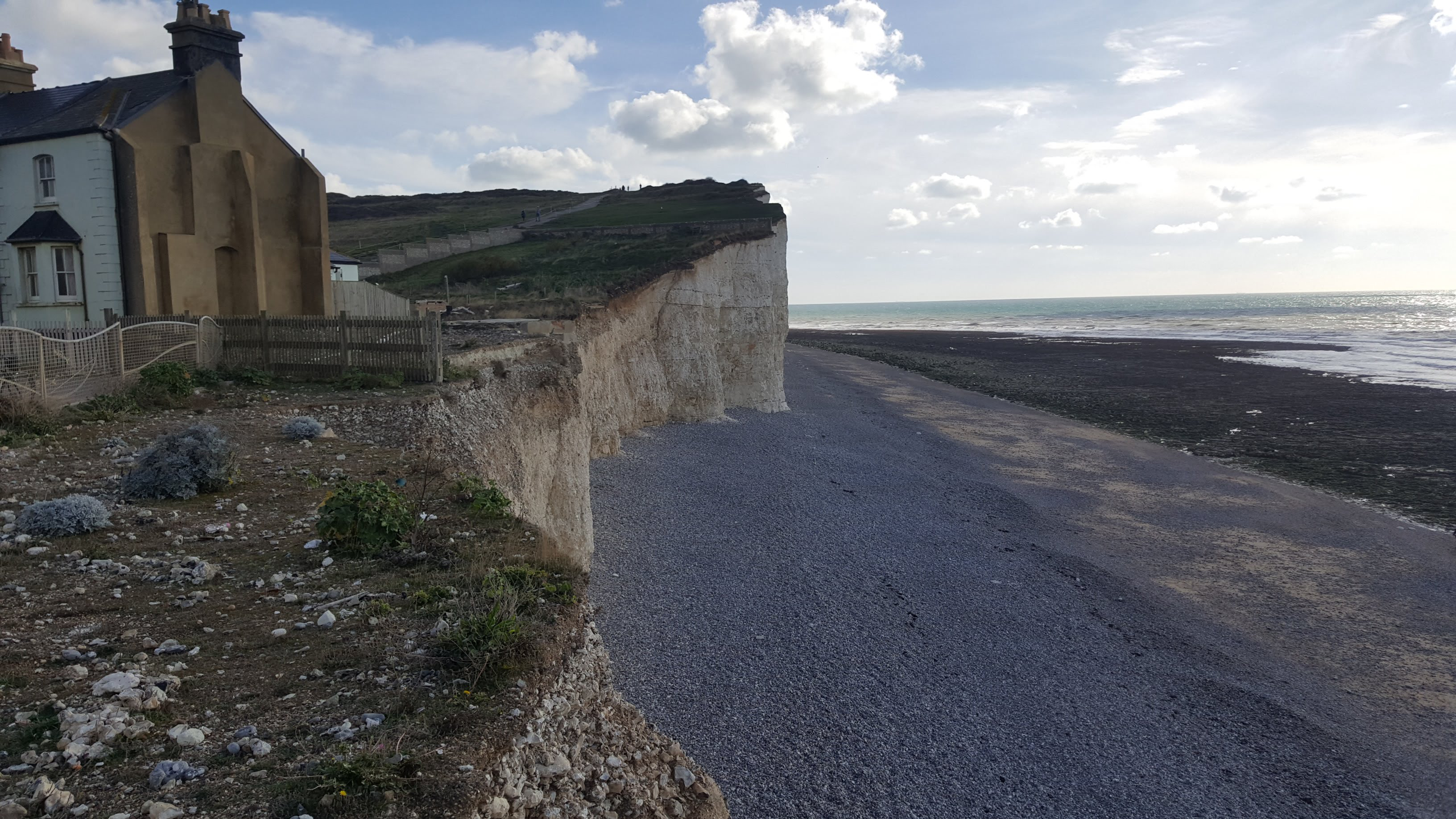Houses at Birling Gap