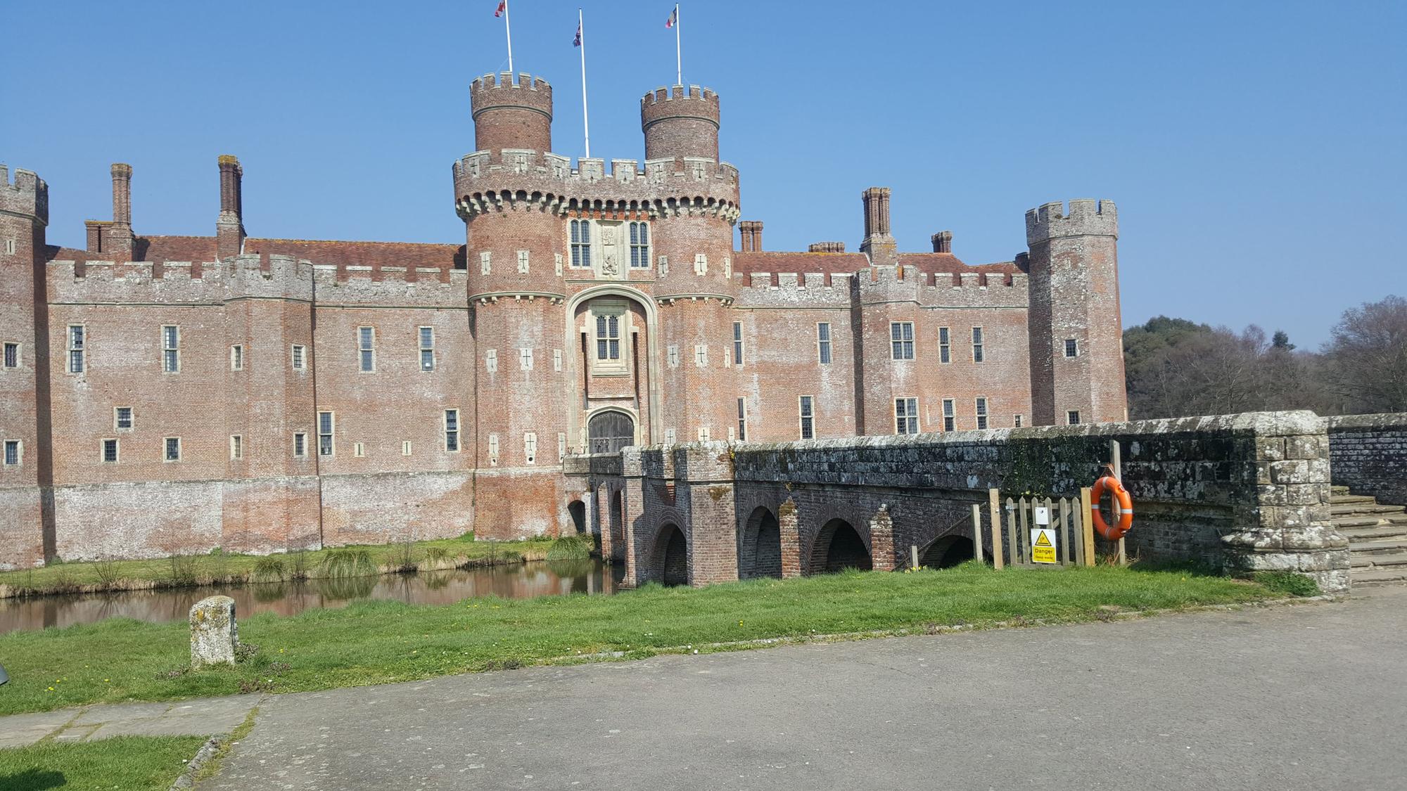 Herstmonceux Castle facade