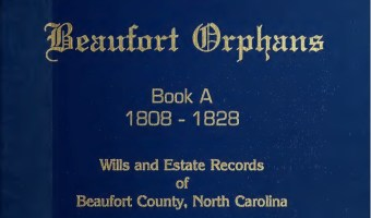 Will of Willoughby MOORE – Beaufort County (Feb 1824)
