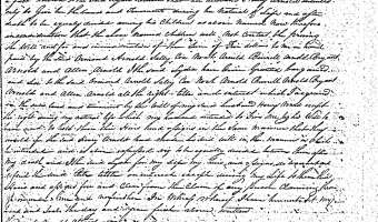 Lydia ARNOLD to Henry ARNOLD's Heirs Deed, 1823 (Pitt County)