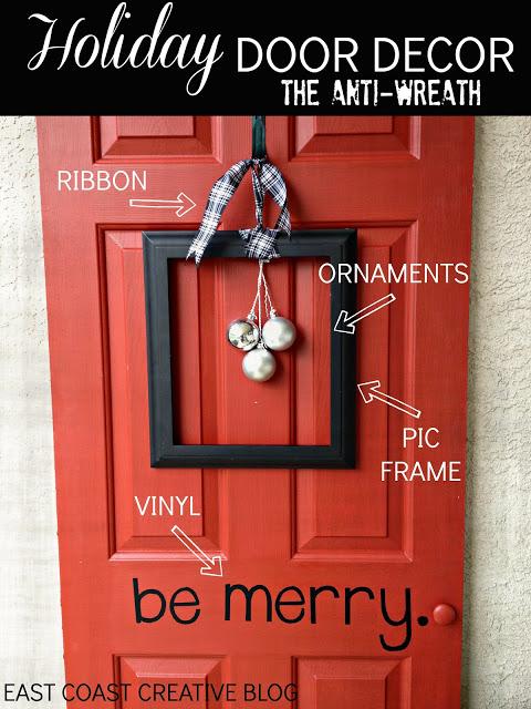 Anti Wreath 2 Seasonal Front Door Decor