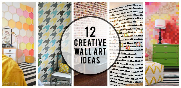 12 Creative Wall Art Ideas: Creating a Statement Wall on Creative Wall  id=98401