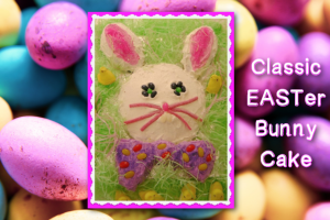 Classic EASTer Bunny Cake