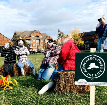 Scarecrows in the City by Discover Charlottetown