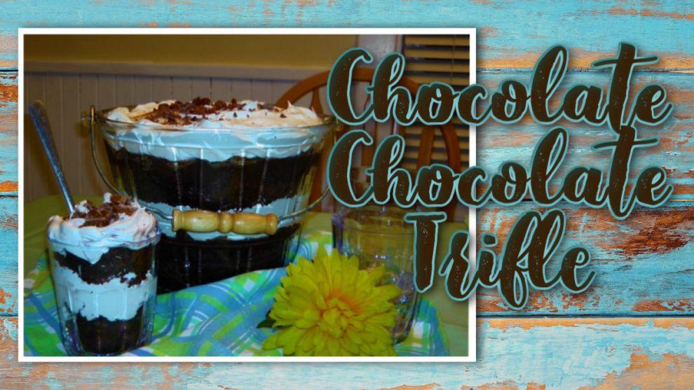 Chocolate Chocolate Trifle recipe