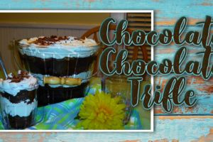 Chocolate Chocolate Trifle recipe