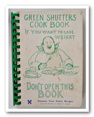 GREEN SHUTTERS COOK BOOK 1971 edition