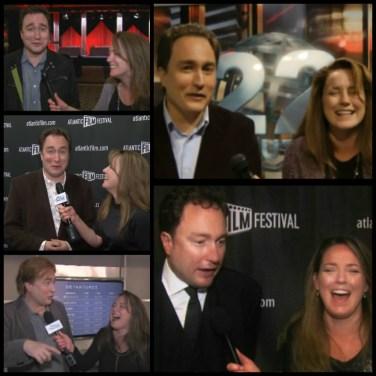 MARK CRITCH with SABStv host Stephanie Beaumont