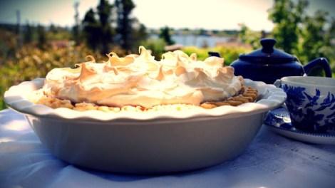 Rhubarb Meringue Pie recipe