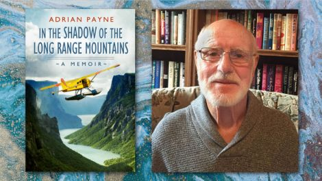 In the Shadow of the Long Range Mountains by Adrian Payne