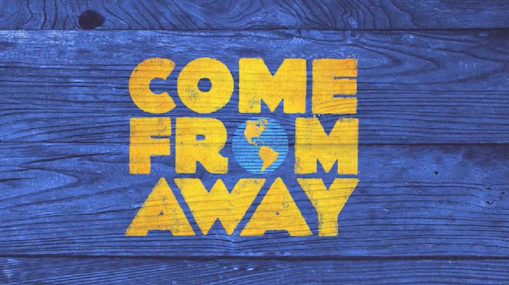 COME FROM AWAY is coming to AppleTV+