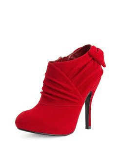 Valentine's Day, Valentine's day fashion tips, red shoes, booties