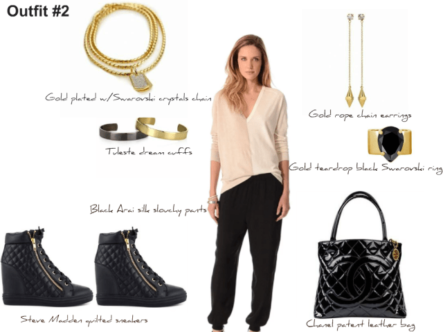 4 Ways To Style The Slouchy Pants