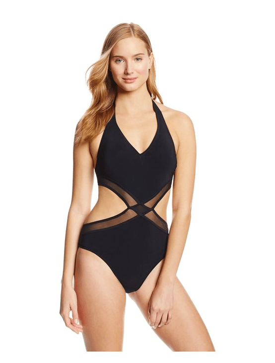 Who Said You Can't Look Sultry With A One-Piece?