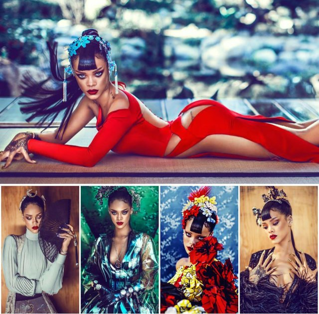 Harpers Bazaar China Rihanna Cover Release