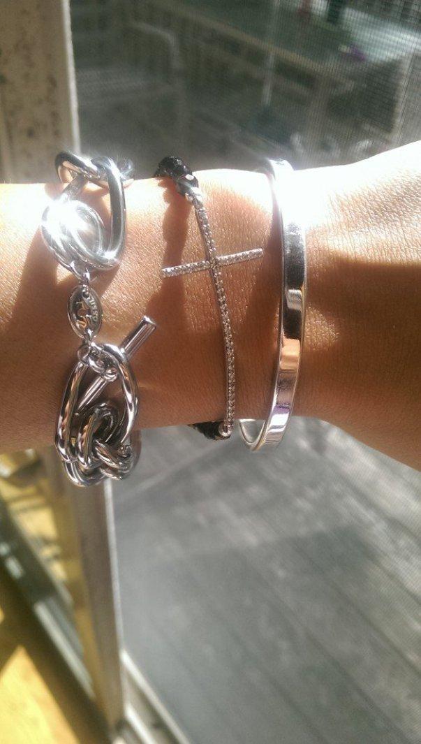 fossil, Loop Link Bracelet – Silver-Tone , Favorite Friday Finds
