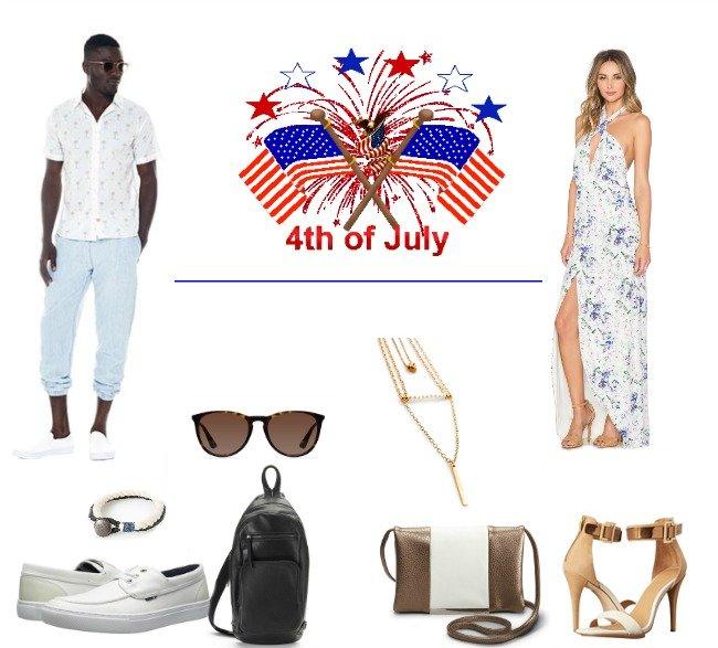4th of July sale, menswear, womenswear