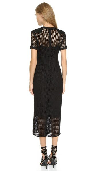 Tamara Mellon Mesh T-Shirt Dress, fashion tips