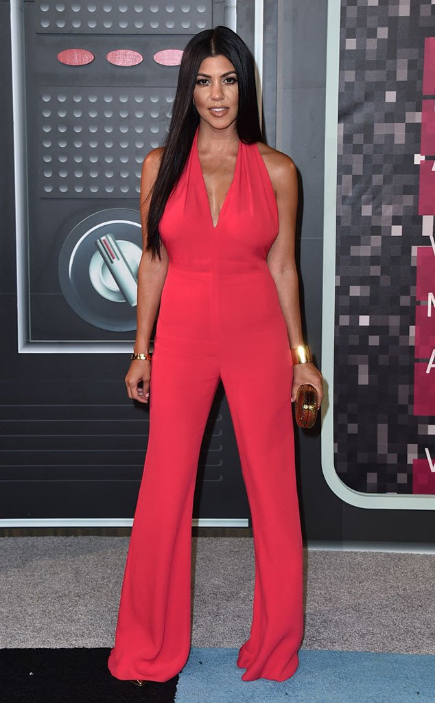 KOURTNEY KARDASHIAN, MTV VMA , Best dressed, 2015 MTV VMAs Red Carpet Best Dressed
