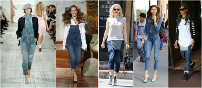 celebs overall fashion trend