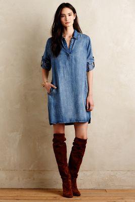 Bella Dahl Weekend Tunic Dress, Anthropologie, New Looks