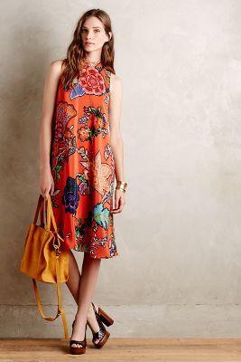 Maeve Larkhill Swing Dress, Anthropologie, New Looks