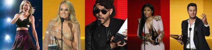 2015 AMAs: Who Were The Winners