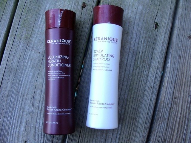Impressive Products, Keranique Volumizing Shampoo and Conditioner