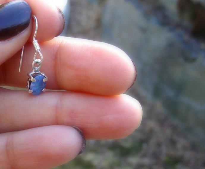 opal earrings, meditation,
