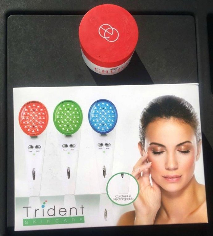 LED Light Therapy, Trident SKin CareLED Acne Light Therapy System