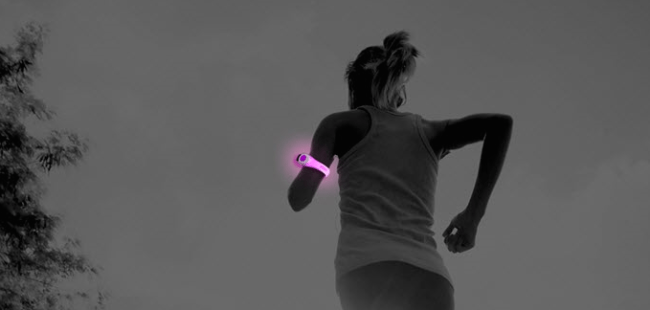 4id, Exercise Gear that lights up at night