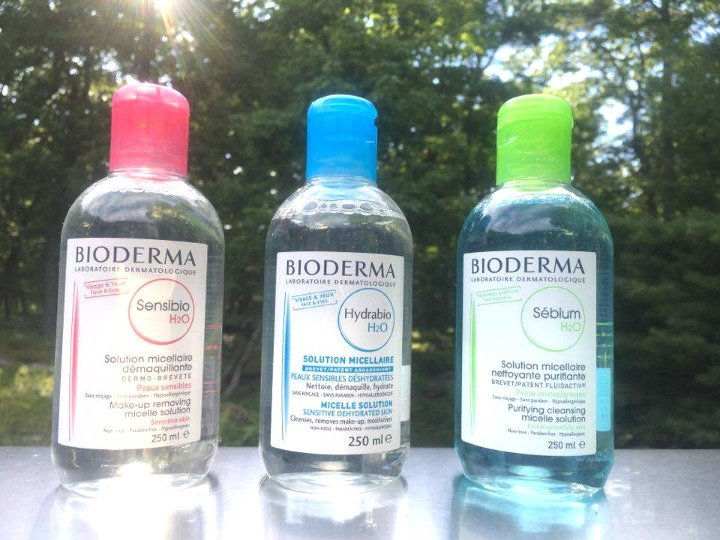 Bioderma Skincare Water Products