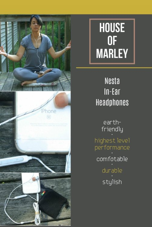 Eco-Friendly Products To Use When Doing Yoga & Meditation, House of Marley , Nesta In-Ear Headphones