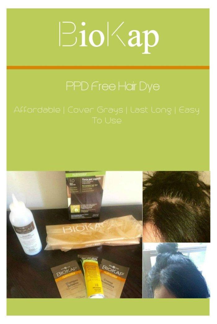 Biokap, PPD free hair dye, Impressive Beauty Products