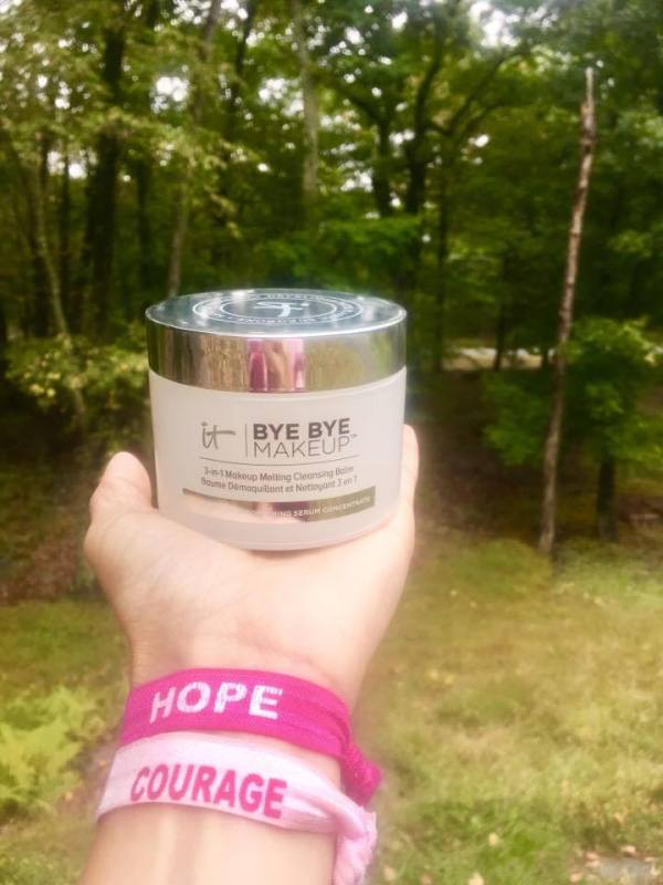 IT Cosmetics, breast cancer, Bye Bye Makeup is a 3-in1 makeup melting cleansing balm