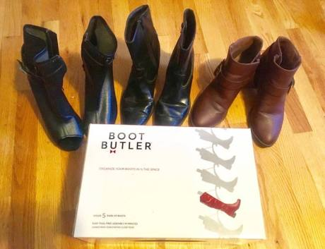 Boot Organizer, Boot Butler