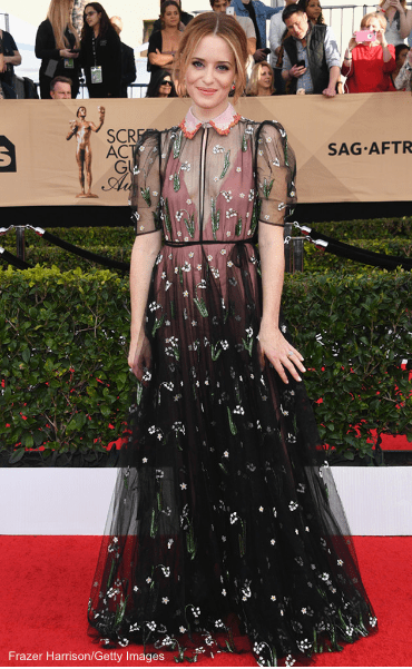 23rd Sag Awards 2017 Best Dressed Celebrities Red Carpet, Claire Foy