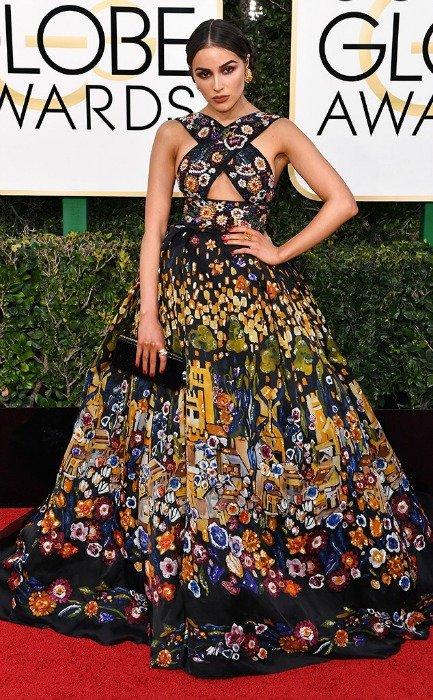 OLIVIA CULPO in Zuhair Murad, 2017 Golden Globe Awards