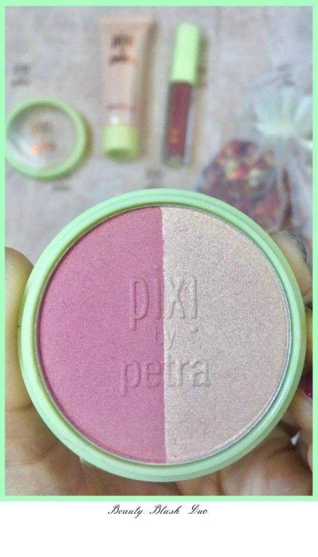 Spring Makeup, Hello Rose makeup kit from Pixi by Petra