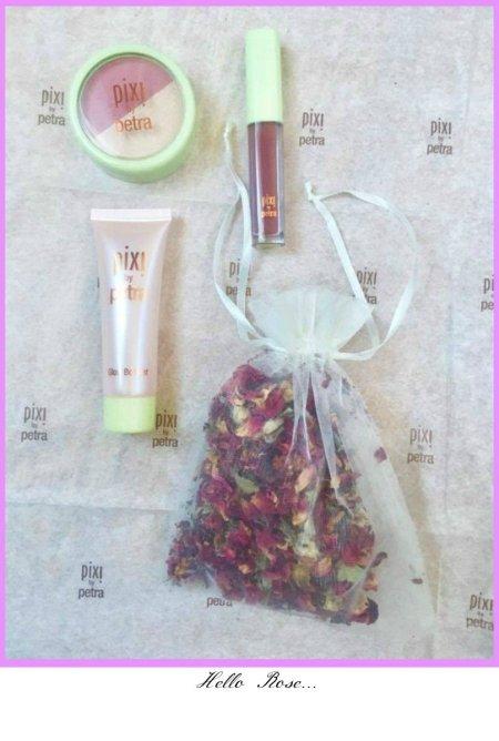 Spring Makeup, Hello Rose makeup kit from Pixi by Petra