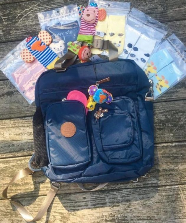 Anuant, diaper bag, backpack,