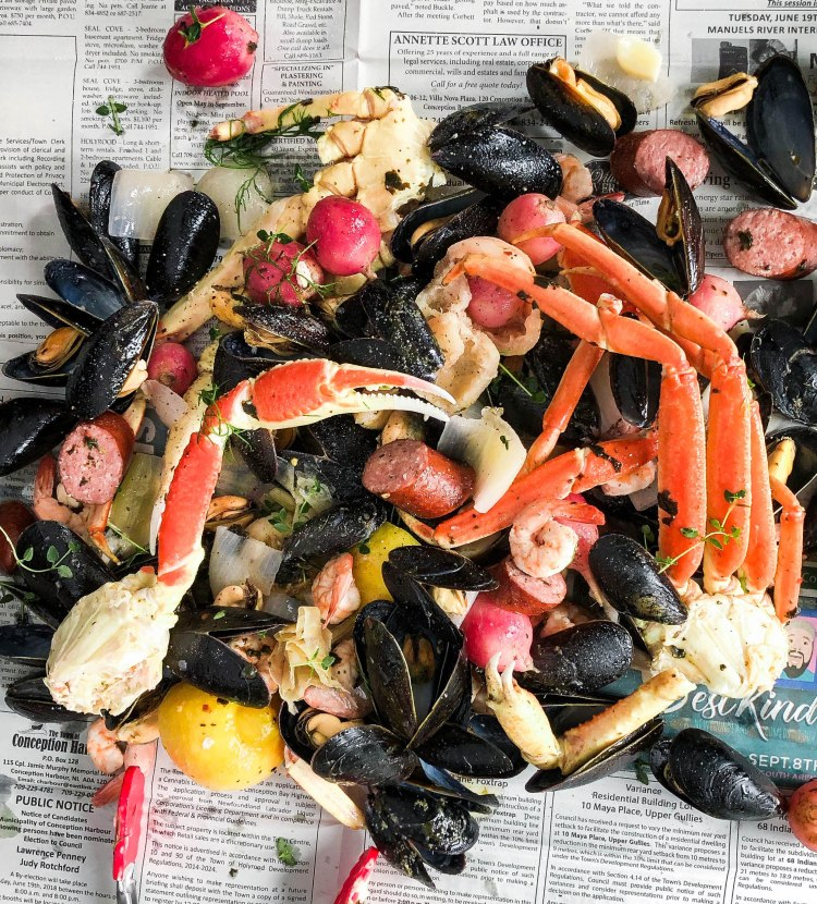 East Coast Keto Fish Boil