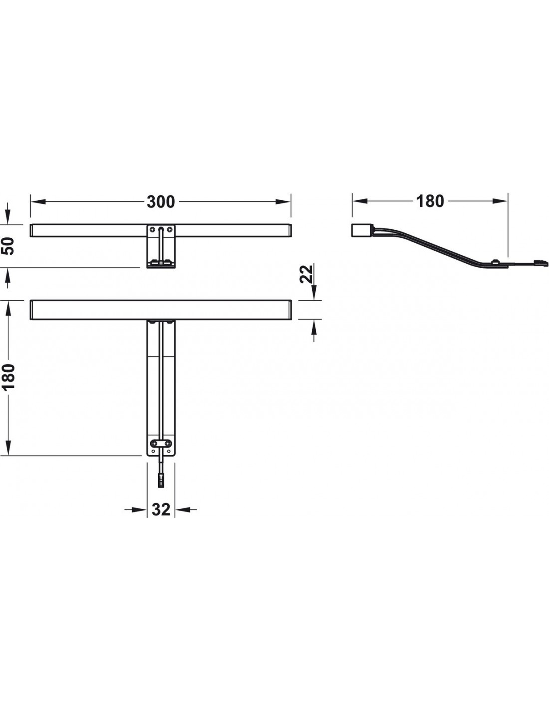 Kitchen Cornice Led Light 12v Ip44 Rated Modern Silver