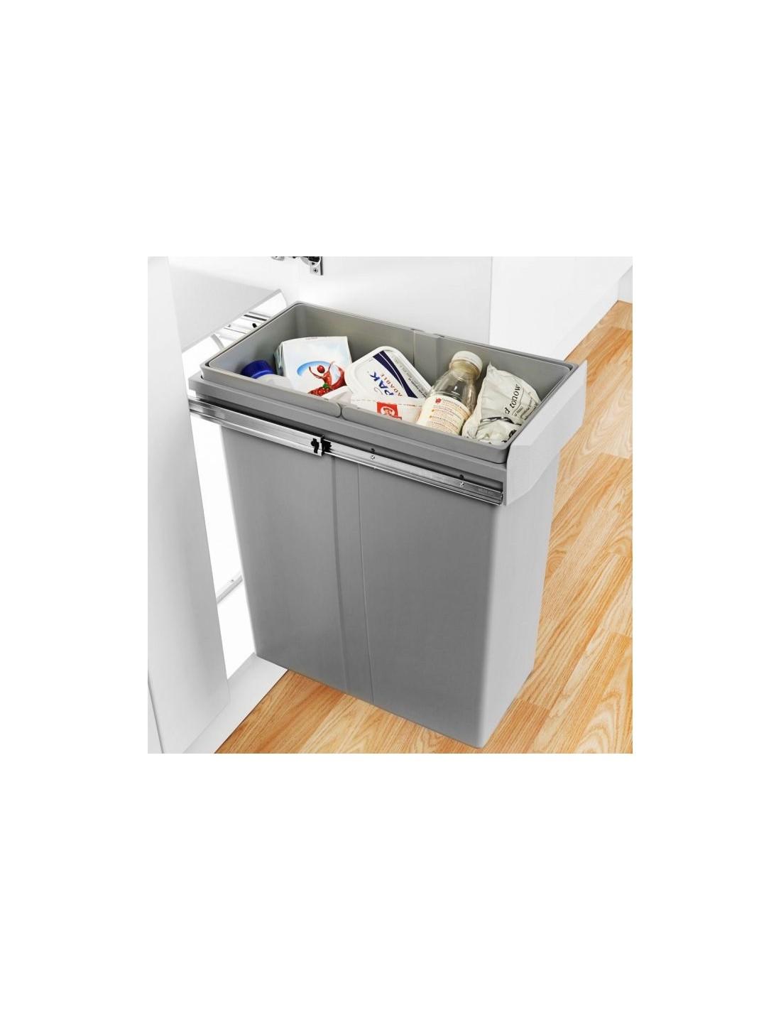 755640 85 wesco kitchen waste bin suits 300mm base kitchen unit single container